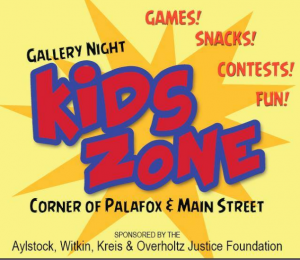 Gallery Night Kids Zone