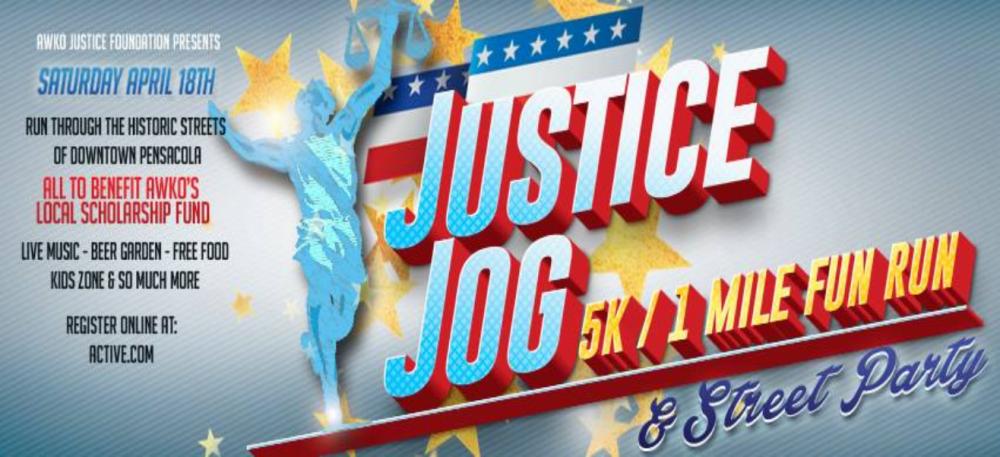 justice jog